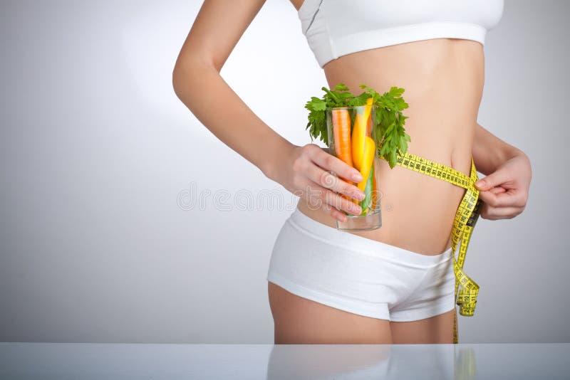 Diät-Frau lizenzfreies stockbild