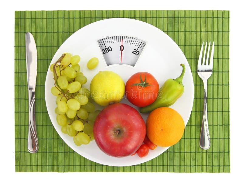 Diät und Nahrung stockbilder