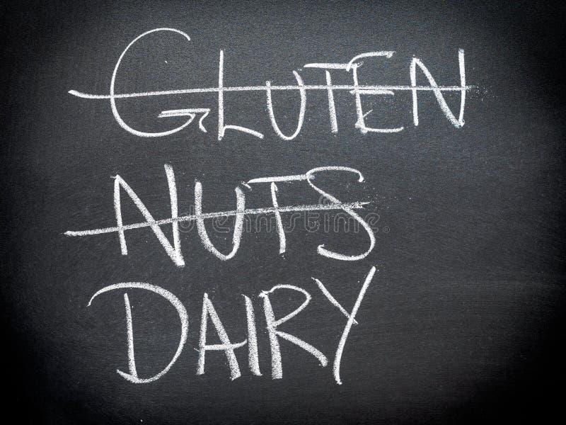 Diät- und Nahrungskonzept lizenzfreies stockbild