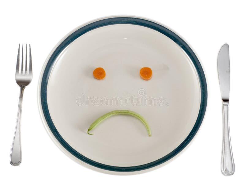 Diätabendessen stockbilder