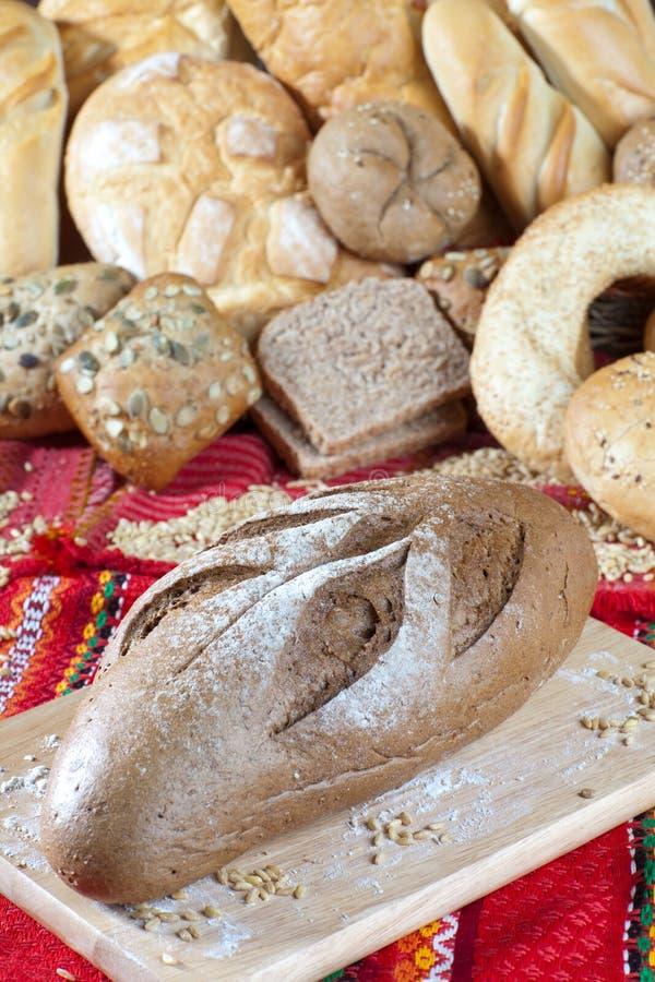 Diätetisches Brot stockbild
