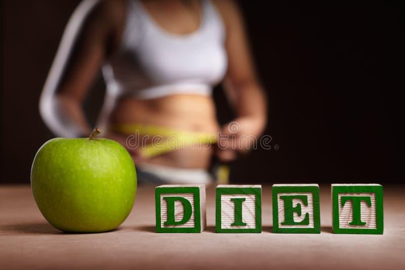 Diätkonzept stockbild