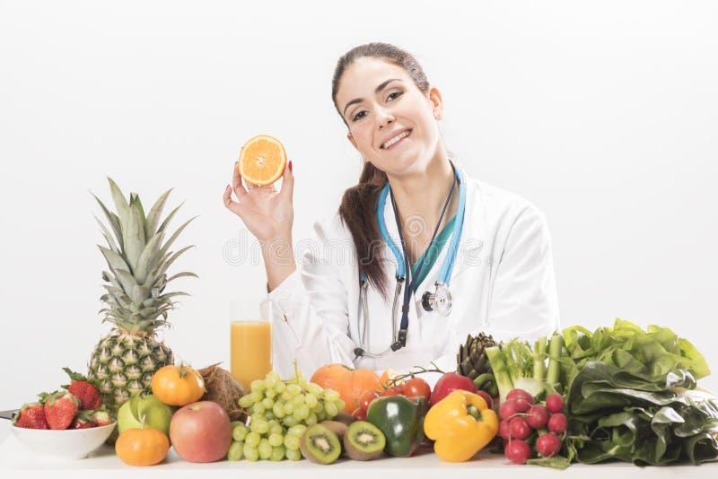 Diététicien féminin photos stock