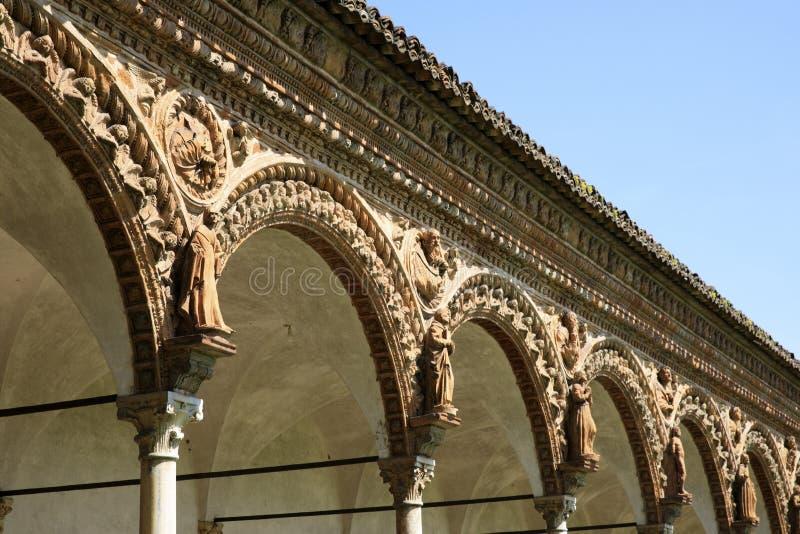 Di Павия Certosa стоковое фото