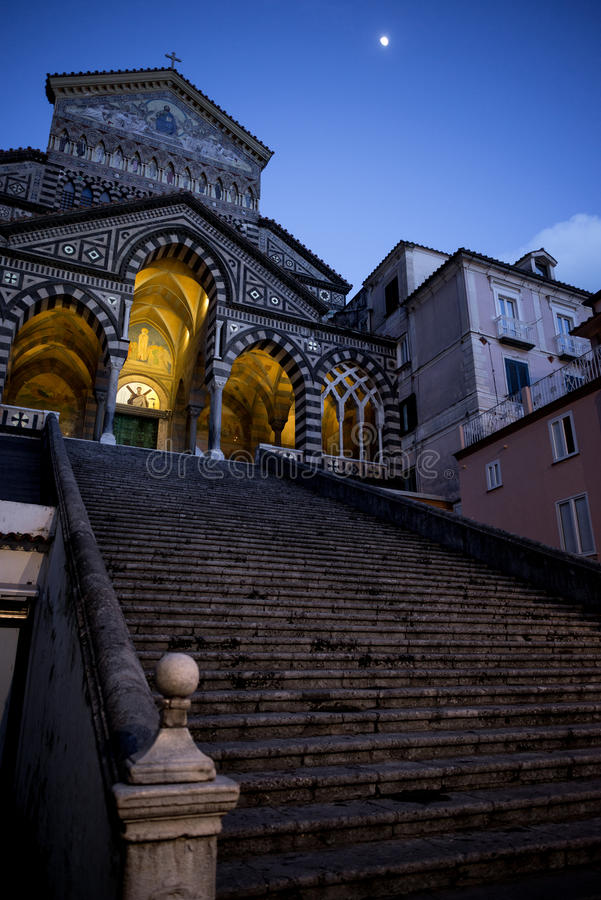 Di Amalfi de Duomo photos libres de droits