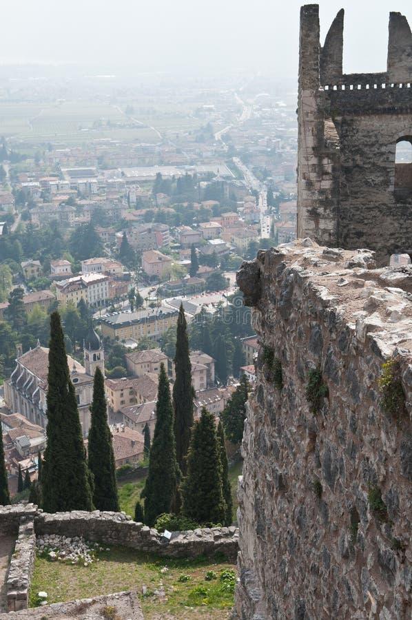 Di Arco van Castello stock afbeelding