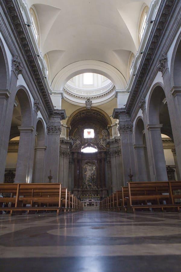Di Arte Sacra San Giovanni de ` Fiorentini de Museo image stock