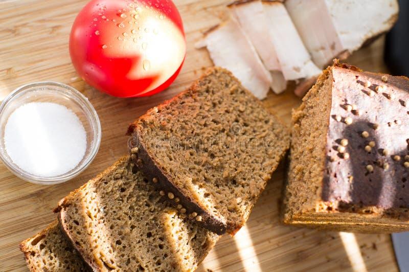 ` Di Borodino del ` del pane di segale fotografia stock