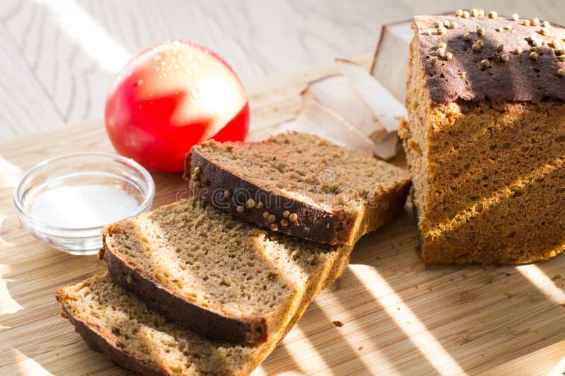 ` Di Borodino del ` del pane di segale fotografia stock libera da diritti