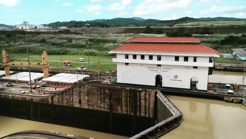 ¡ Di Canal de Panamà fotografie stock libere da diritti