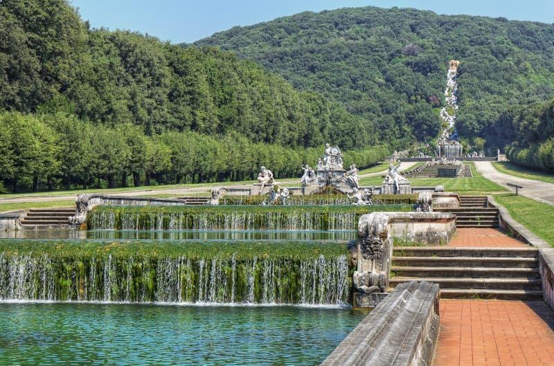 Di Caserta reggia τοπίων στοκ εικόνα