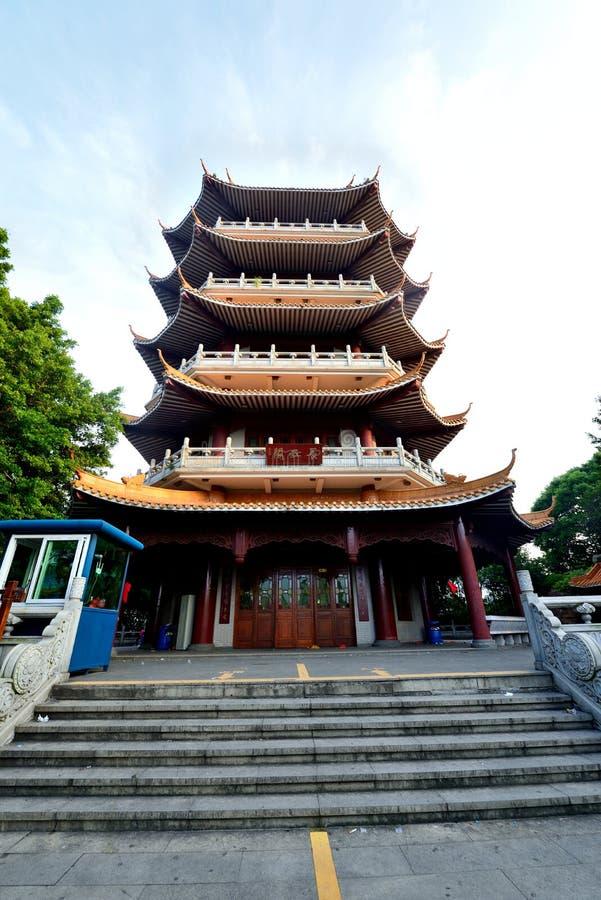 ` Di Chang una torre del parco immagine stock