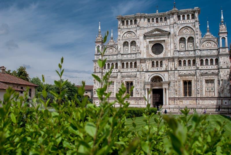 di charterhouse certosa Pavia obraz royalty free