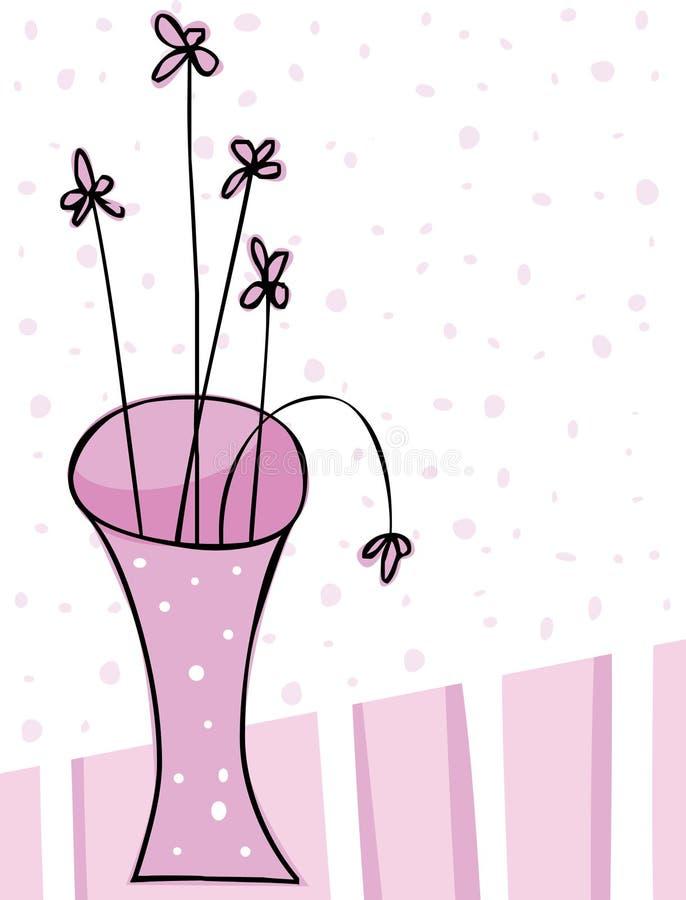 Di Colore Rosa Vita Ancora Immagine Stock