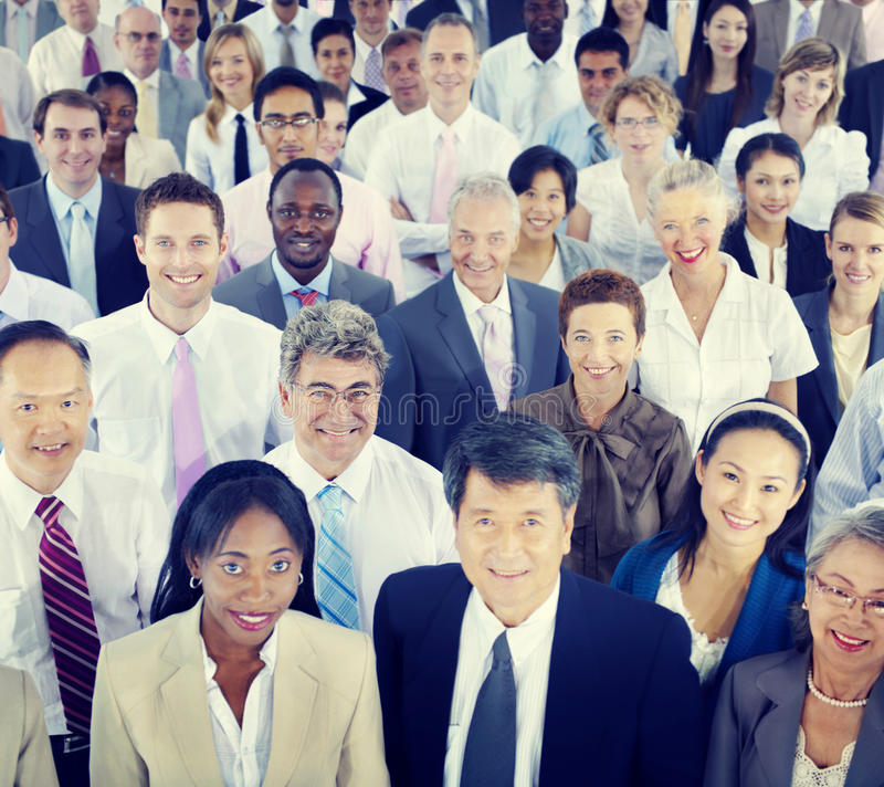 Di Coorporate Team Community Concept di diversità gente di affari immagini stock libere da diritti