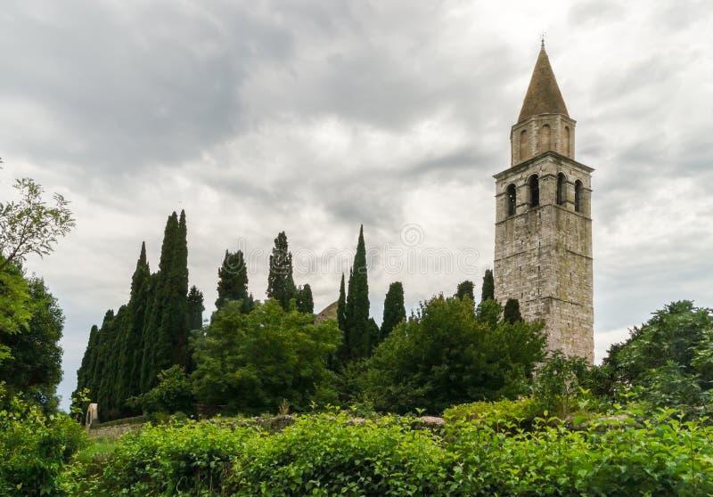 Di de basilique Santa Maria Assunta dans Aquileia photographie stock