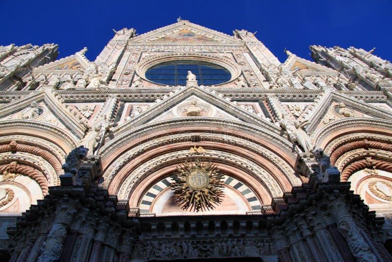 di Duomo Siena fotografia stock