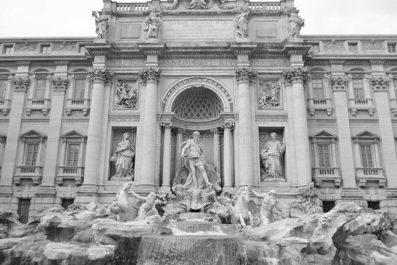 di Fontana fontanny trevi zdjęcia royalty free