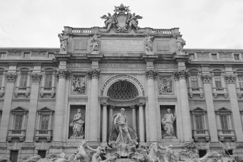 di Fontana fontanny trevi obrazy royalty free