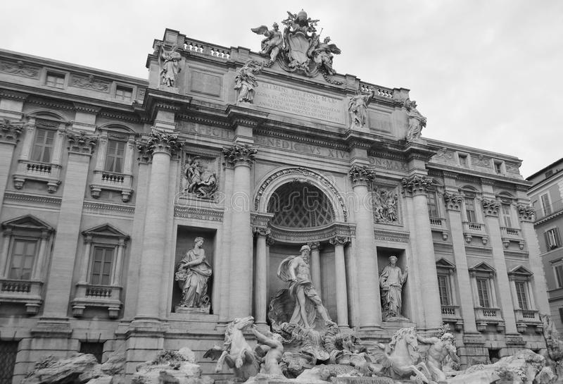 di Fontana fontanny trevi zdjęcie royalty free