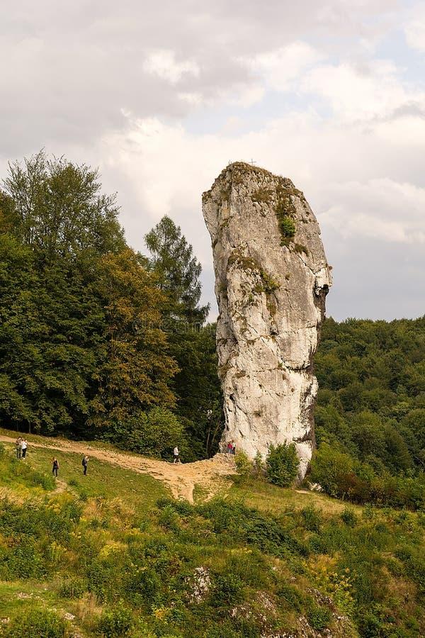 ` Di Hercules Mace del ` in Pieskowa Skala Polonia fotografia stock libera da diritti