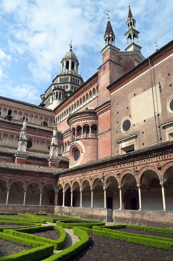 Di italianos Pavia de Certosa do monastério imagens de stock royalty free