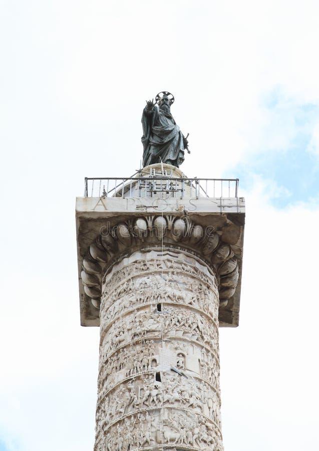 Di Marco Aurelio de Colonna foto de archivo libre de regalías