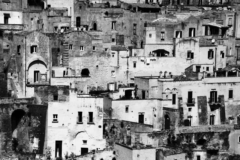 Di Matera de Sassi imagen de archivo