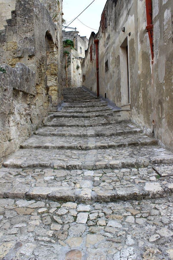 Di Matera Sassi, Италия, европейская столица культуры 2019 стоковые фото