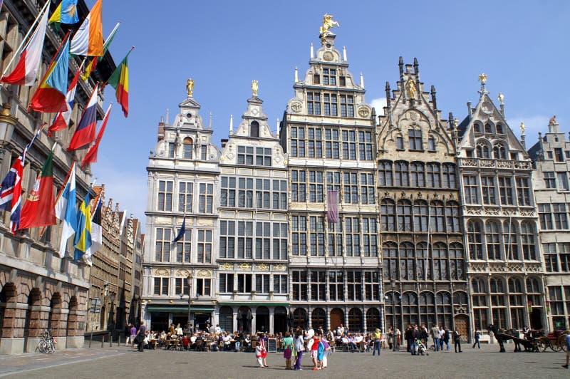 Di mercato Anversa fotografia stock