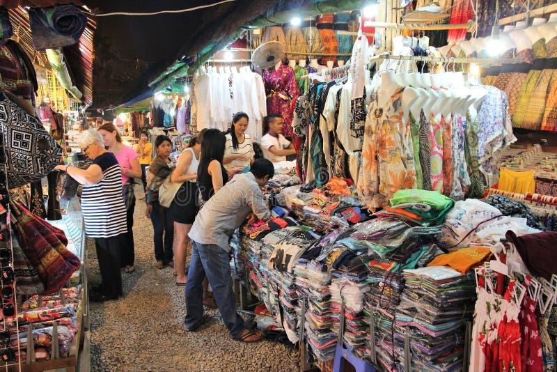 Di mercato della Cambogia immagini stock
