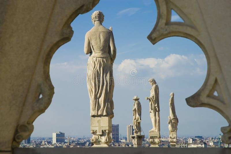 Di Milaan van IL Duomo royalty-vrije stock afbeelding