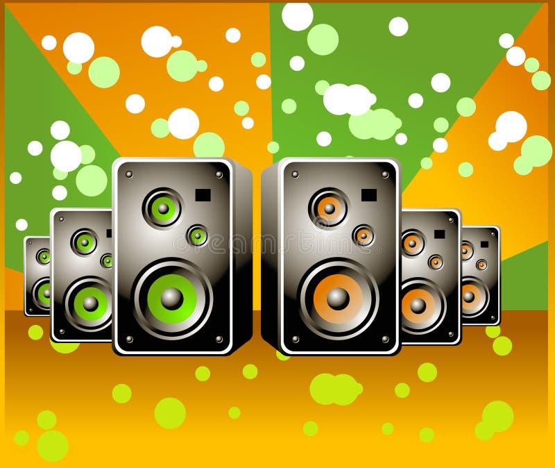 Di Music Box illustrazione vettoriale