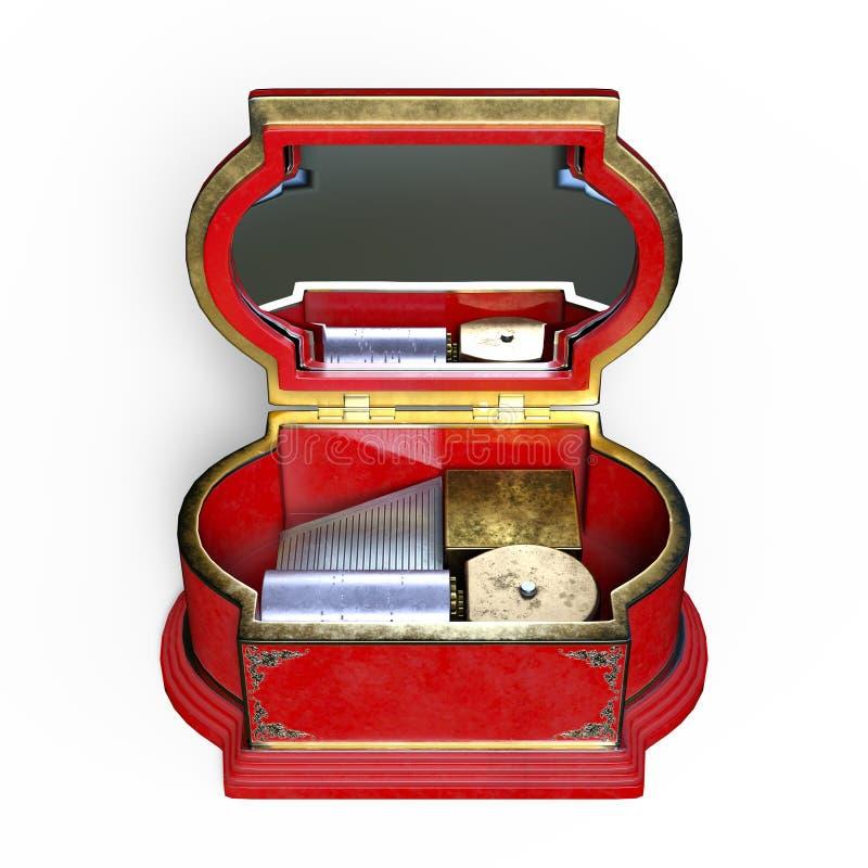 Di Music Box illustrazione di stock
