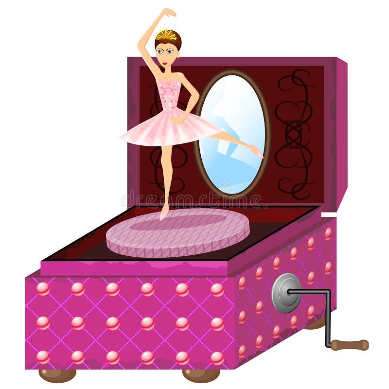 Di Music Box dell'annata royalty illustrazione gratis