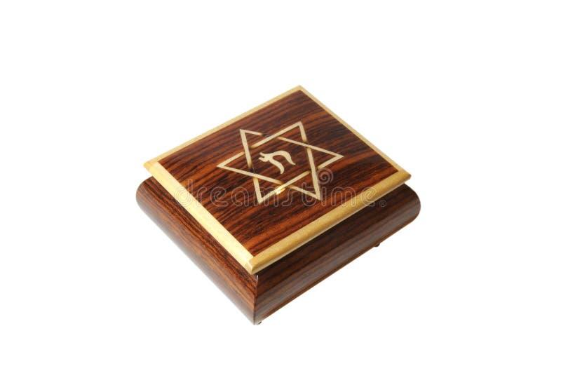 Di Music Box ebreo fotografie stock