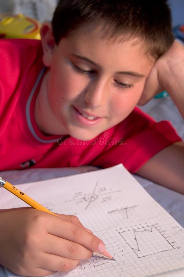 Download Di Nuovo Agli Azzurri Del Banco Fotografia Stock - Immagine di ragazzo, concentrazione: 220566