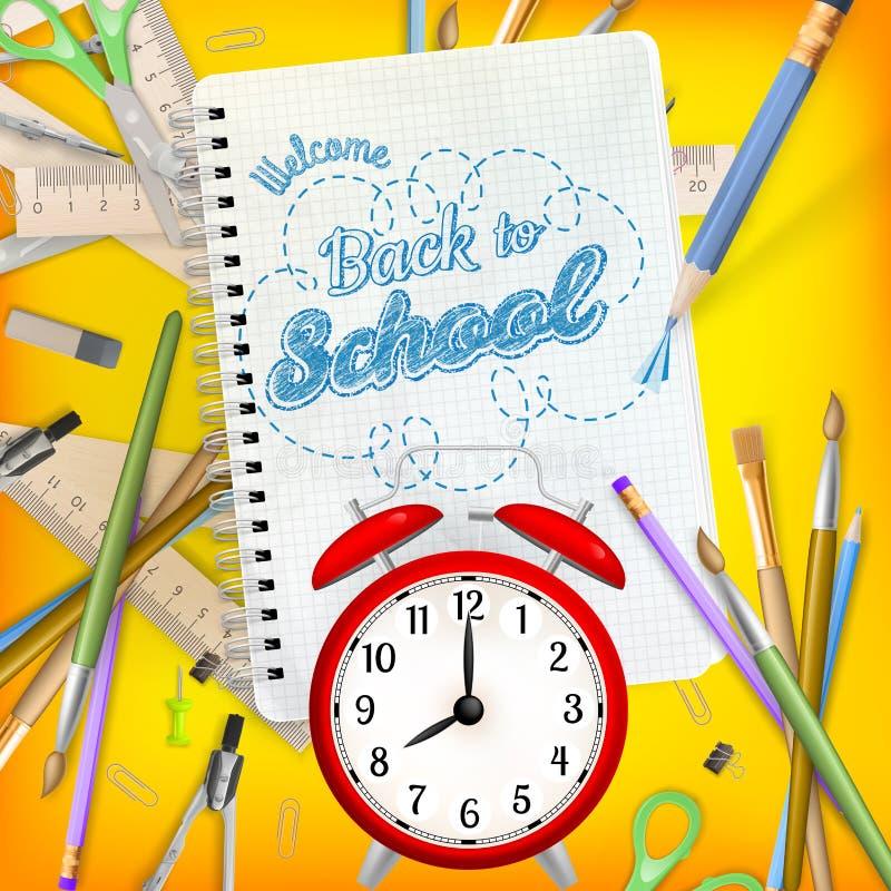 Download Di Nuovo Al Concetto Del Modello Della Scuola ENV 10 Illustrazione Vettoriale - Illustrazione di ricordo, apparecchiatura: 56888674