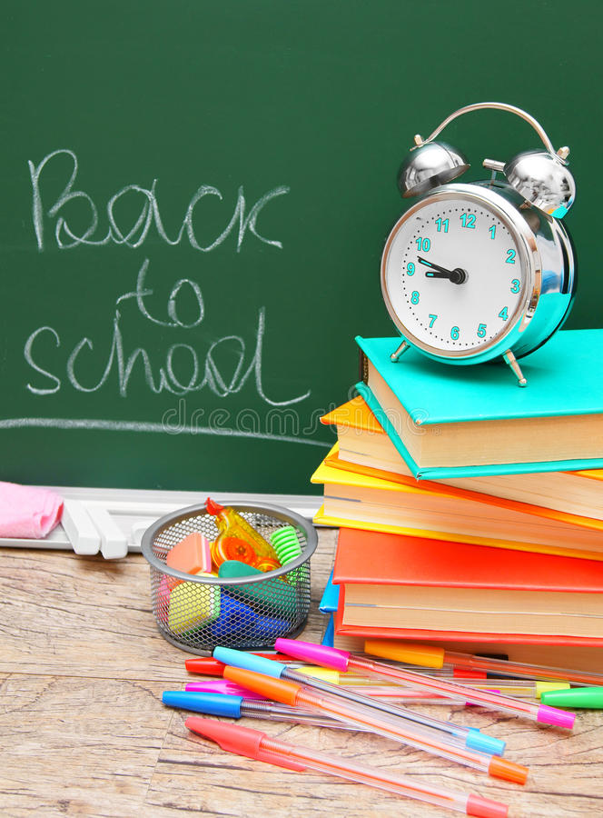 Di nuovo alla scuola. fotografia stock