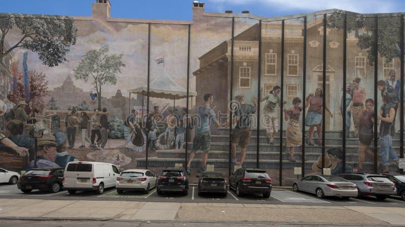 ` Di orgoglio e di progresso del ` da Ann Northrup, Filadelfia, Pensilvania immagine stock