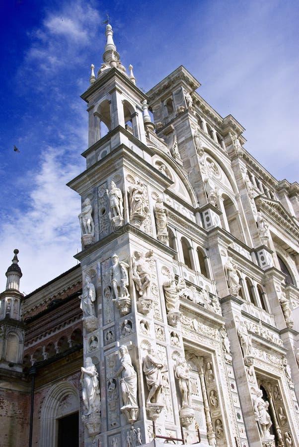 Di Pavia de Certosa imagens de stock
