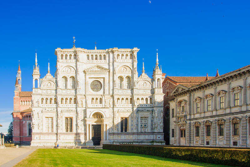 Di Pavia de Certosa foto de stock
