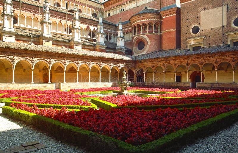 Di Pavia de Certosa imagem de stock royalty free