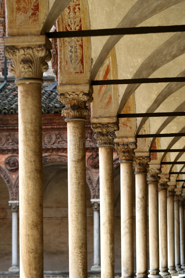 Di Pavia de Certosa, Italy foto de stock