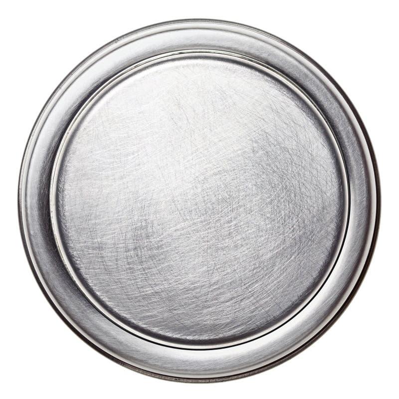 Di piastra metallica immagine stock