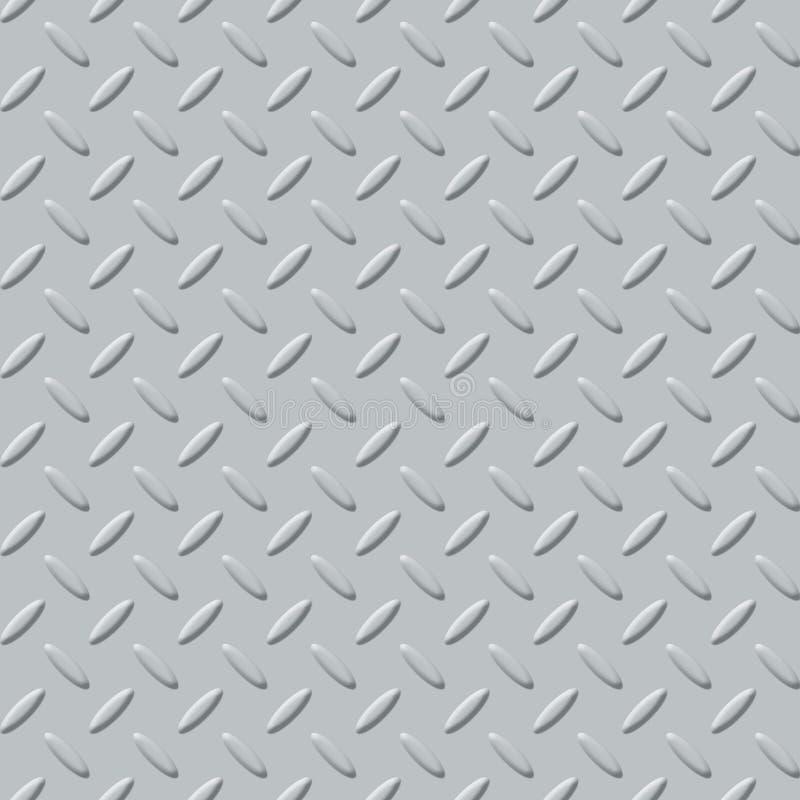 Di piastra metallica chiaro illustrazione di stock