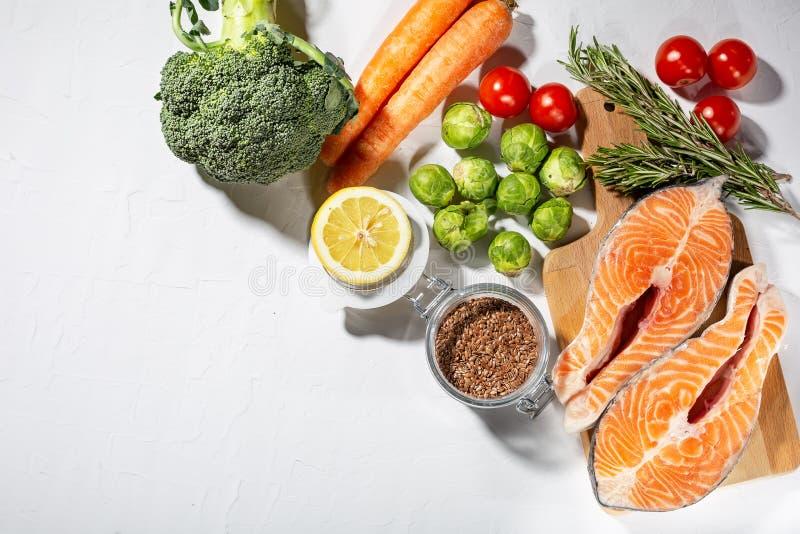 Di recente selezione degli alimenti sani per la dieta del cheto immagini stock