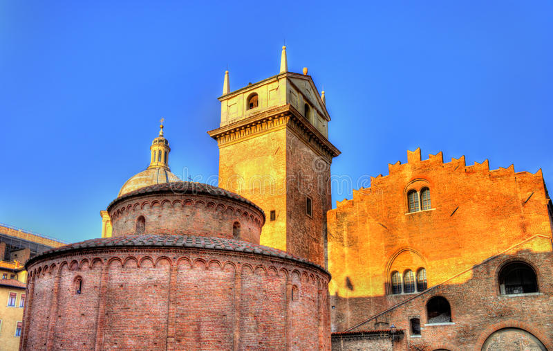 Di San Lorenzo di Rotonda e della Ragione di Palazzo immagini stock