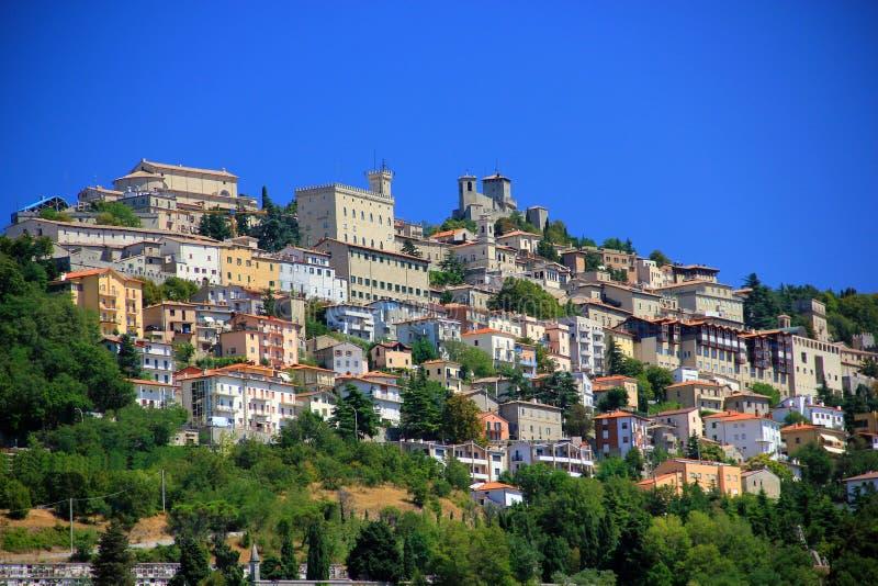 Di San Marino de Repubblica fotografía de archivo