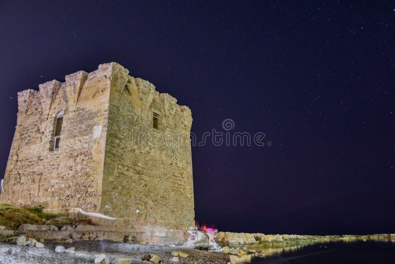 Di San Vito Torre, Polignano конематка стоковая фотография rf